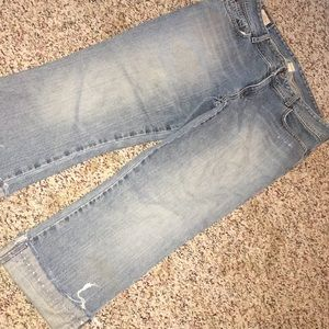 Abercrombie & Fitch Cropped Jeans